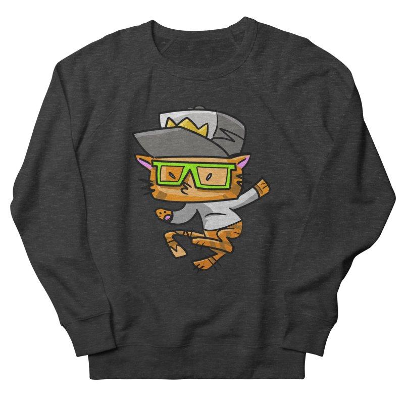 Alley Cat Green Men's Sweatshirt by Alero Artist Shop