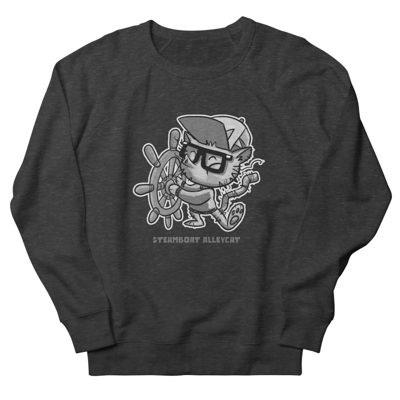Steamboat Alley Cat Men's Sweatshirt by Alero Artist Shop