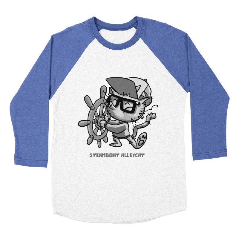 Steamboat Alley Cat Women's Baseball Triblend T-Shirt by Alero Artist Shop