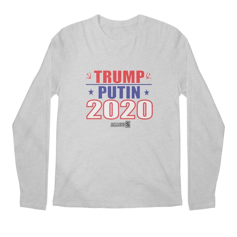 TRUMP PUTIN 2020! MAKE AMERICA BORSHT AGAIN! Men's Regular Longsleeve T-Shirt by America's Last Line of Defense