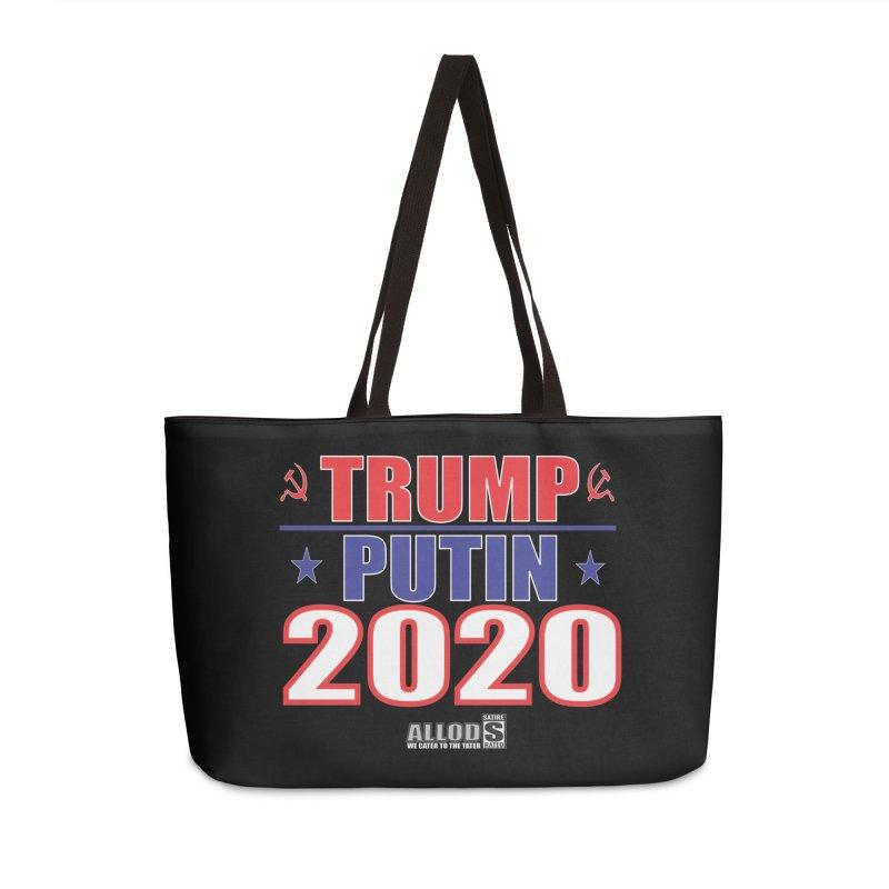 TRUMP PUTIN 2020! MAKE AMERICA BORSHT AGAIN! Accessories Weekender Bag Bag by America's Last Line of Defense