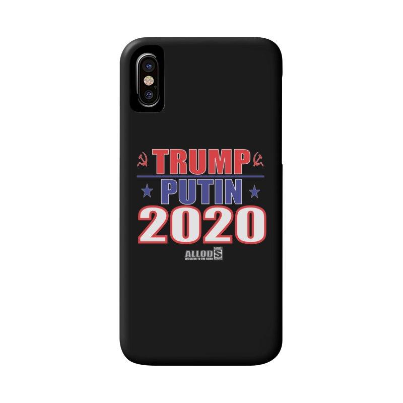 TRUMP PUTIN 2020! MAKE AMERICA BORSHT AGAIN! in iPhone X / XS Phone Case Slim by America's Last Line of Defense