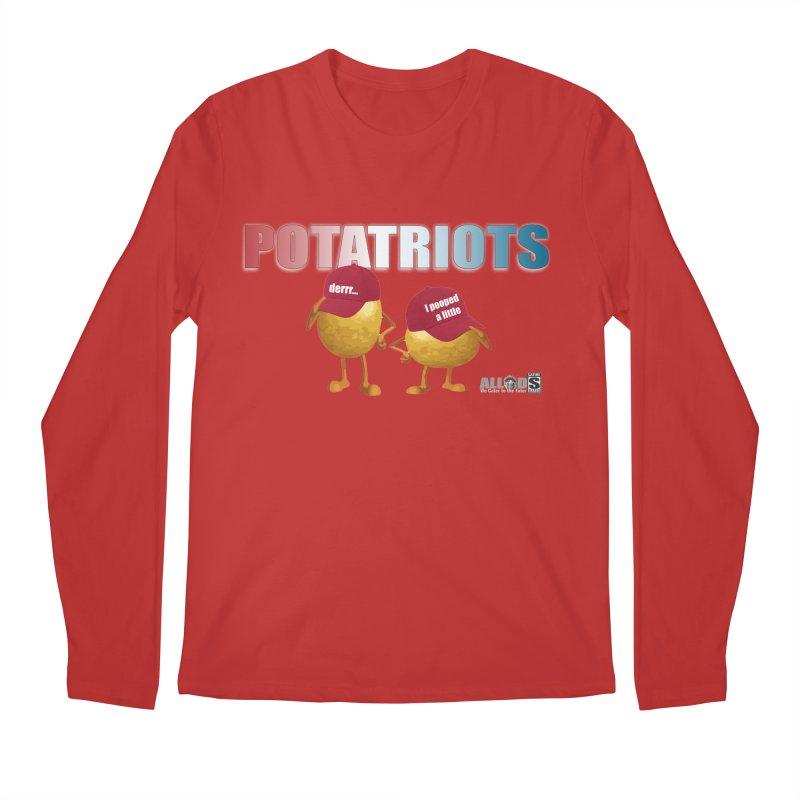POTATRIOTS! Men's Regular Longsleeve T-Shirt by America's Last Line of Defense