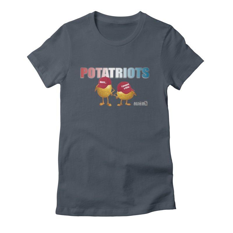 POTATRIOTS! Women's T-Shirt by America's Last Line of Defense