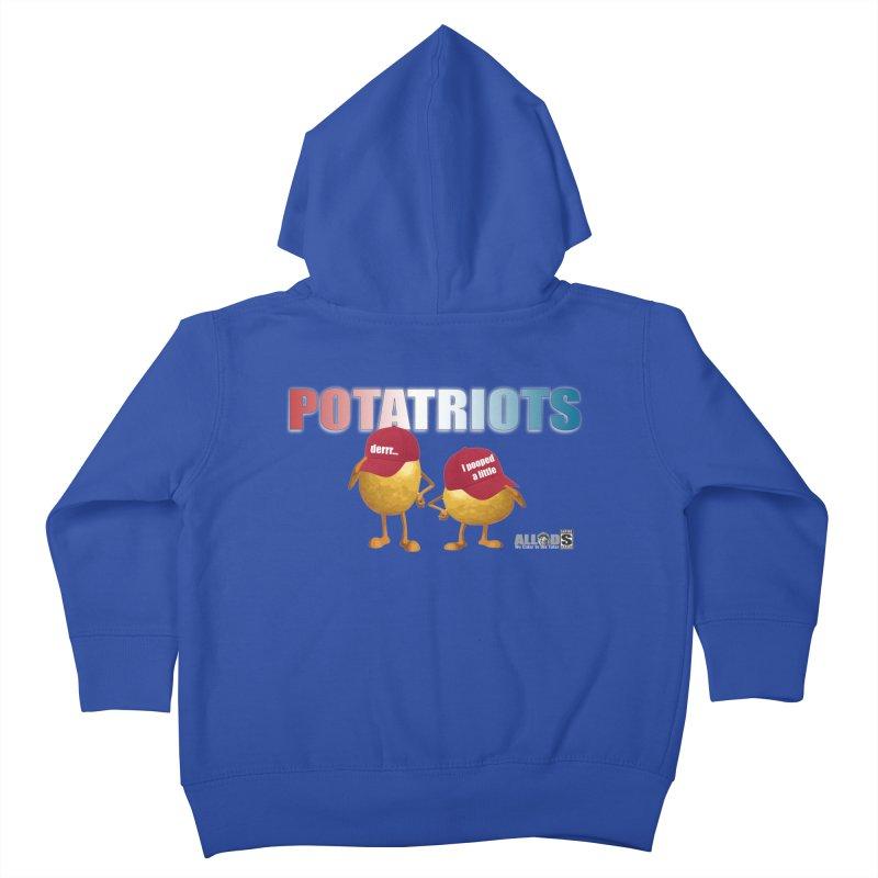 POTATRIOTS! Kids Toddler Zip-Up Hoody by America's Last Line of Defense