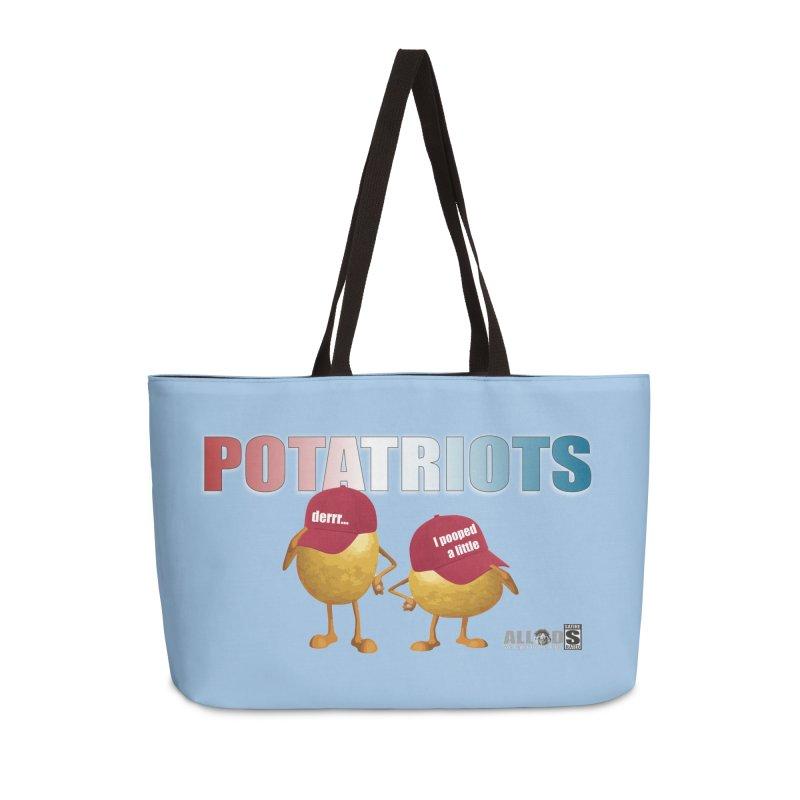 POTATRIOTS! Accessories Weekender Bag Bag by America's Last Line of Defense