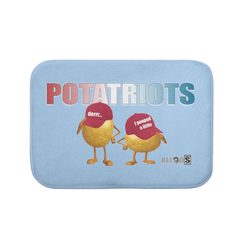 POTATRIOTS! Home Bath Mat by America's Last Line of Defense