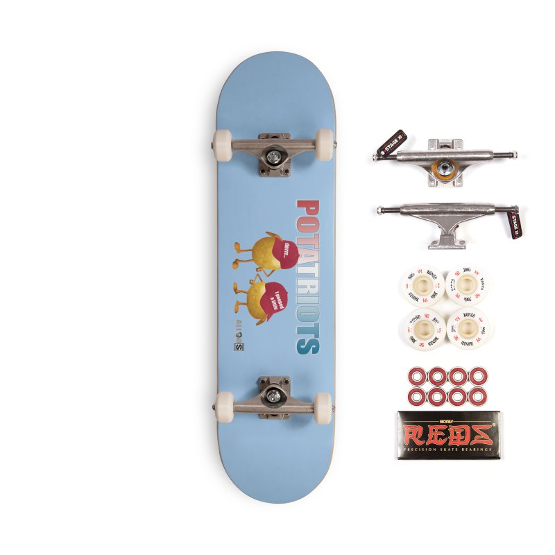 POTATRIOTS! Accessories Complete - Pro Skateboard by America's Last Line of Defense