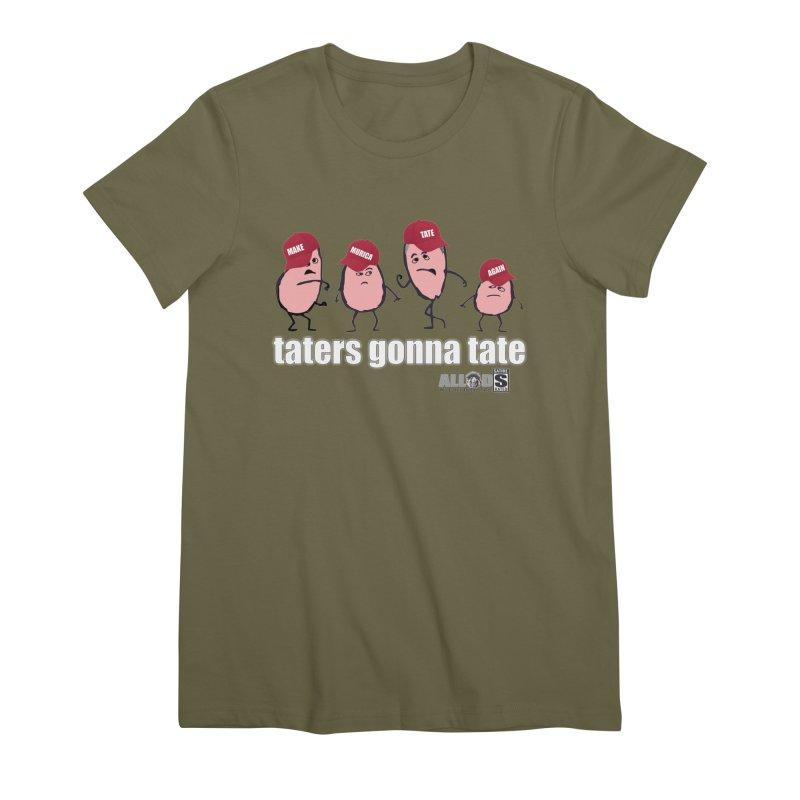 MAKE AMERICA TATE AGAIN! Women's T-Shirt by America's Last Line of Defense