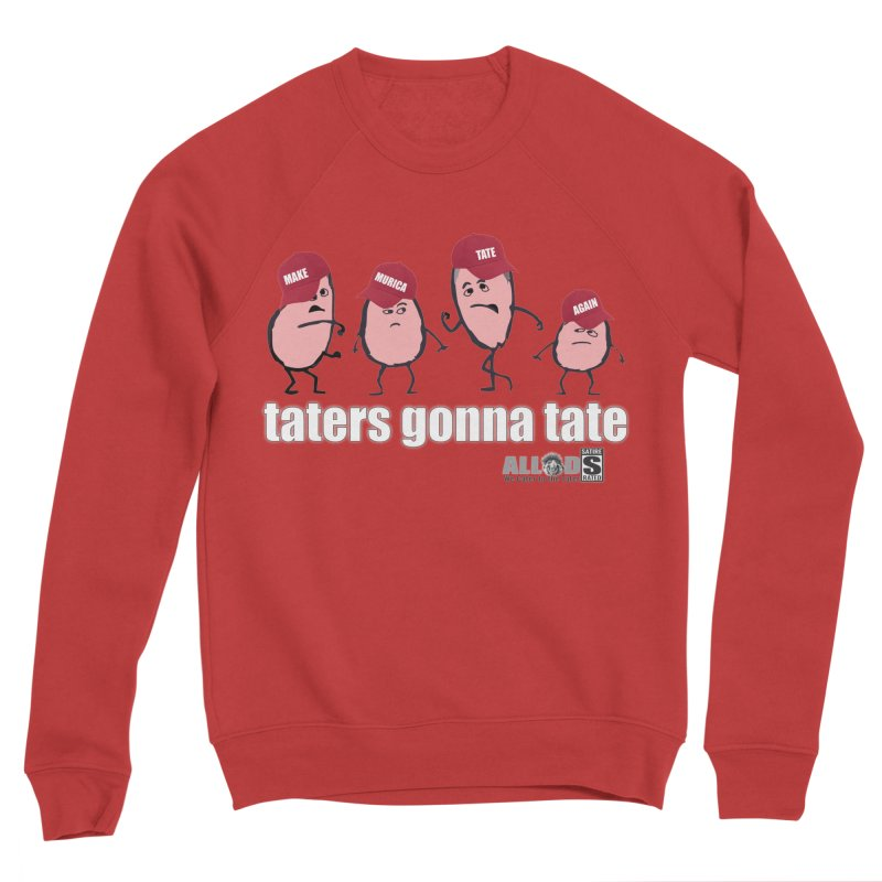 MAKE AMERICA TATE AGAIN! Men's Sponge Fleece Sweatshirt by America's Last Line of Defense