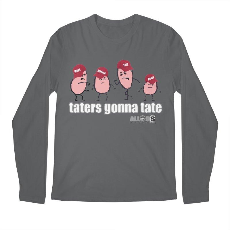 MAKE AMERICA TATE AGAIN! Men's Regular Longsleeve T-Shirt by America's Last Line of Defense
