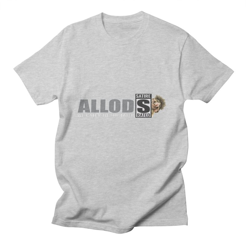 ALLOD The Logo Featuring Busta Troll Men's T-Shirt by America's Last Line of Defense