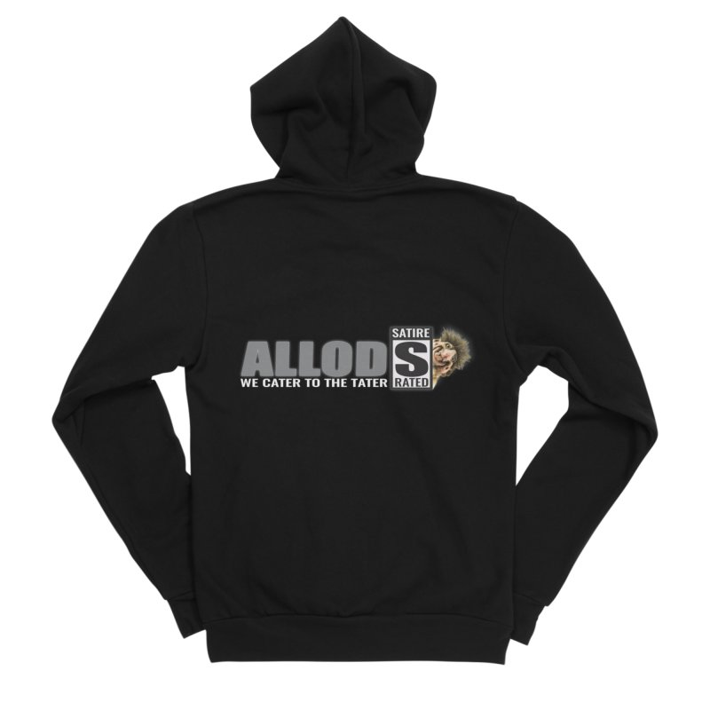 ALLOD The Logo Featuring Busta Troll Men's Sponge Fleece Zip-Up Hoody by America's Last Line of Defense