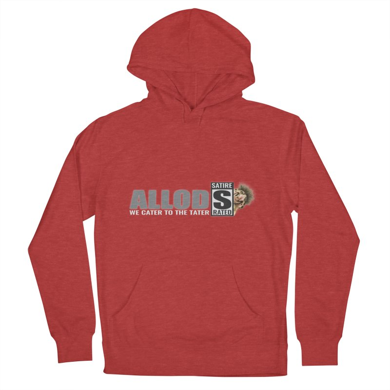 ALLOD The Logo Featuring Busta Troll Women's French Terry Pullover Hoody by America's Last Line of Defense
