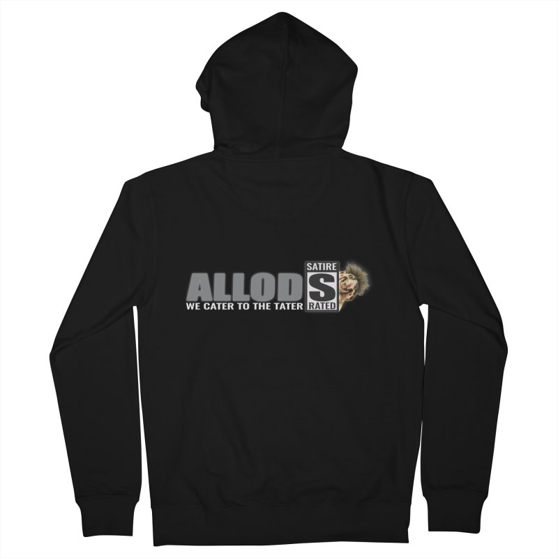 ALLOD The Logo Featuring Busta Troll Women's Zip-Up Hoody by America's Last Line of Defense