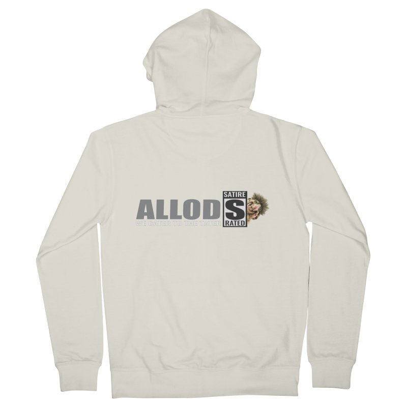 ALLOD The Logo Featuring Busta Troll Women's French Terry Zip-Up Hoody by America's Last Line of Defense