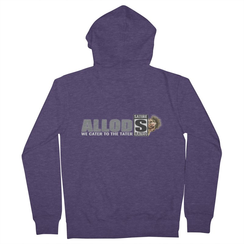 ALLOD The Logo Featuring Busta Troll Men's French Terry Zip-Up Hoody by America's Last Line of Defense