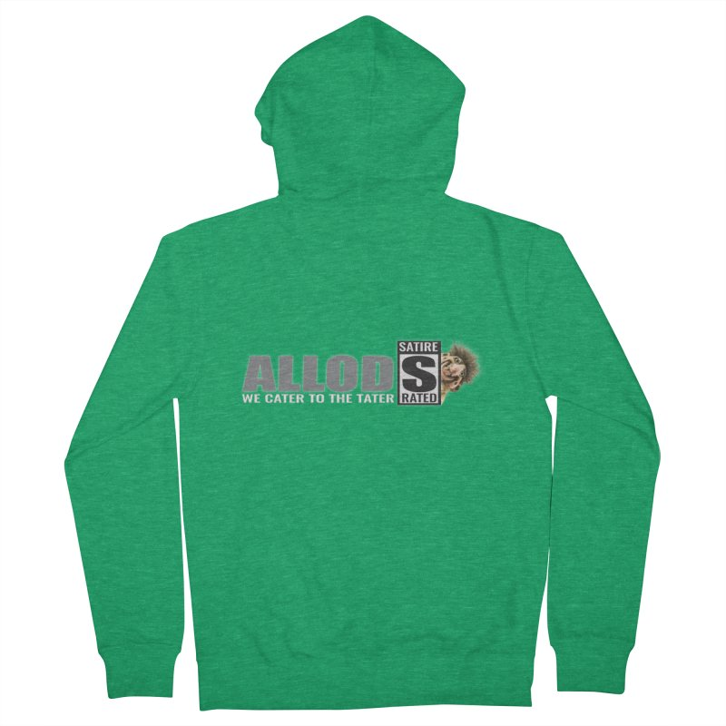 ALLOD The Logo Featuring Busta Troll Men's Zip-Up Hoody by America's Last Line of Defense