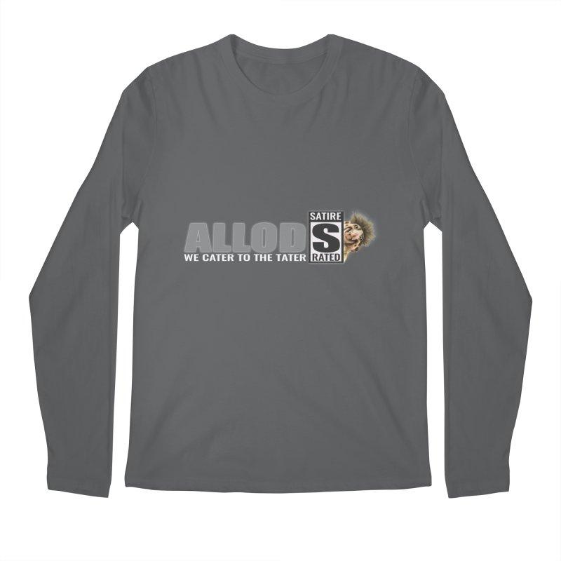 ALLOD The Logo Featuring Busta Troll Men's Longsleeve T-Shirt by America's Last Line of Defense