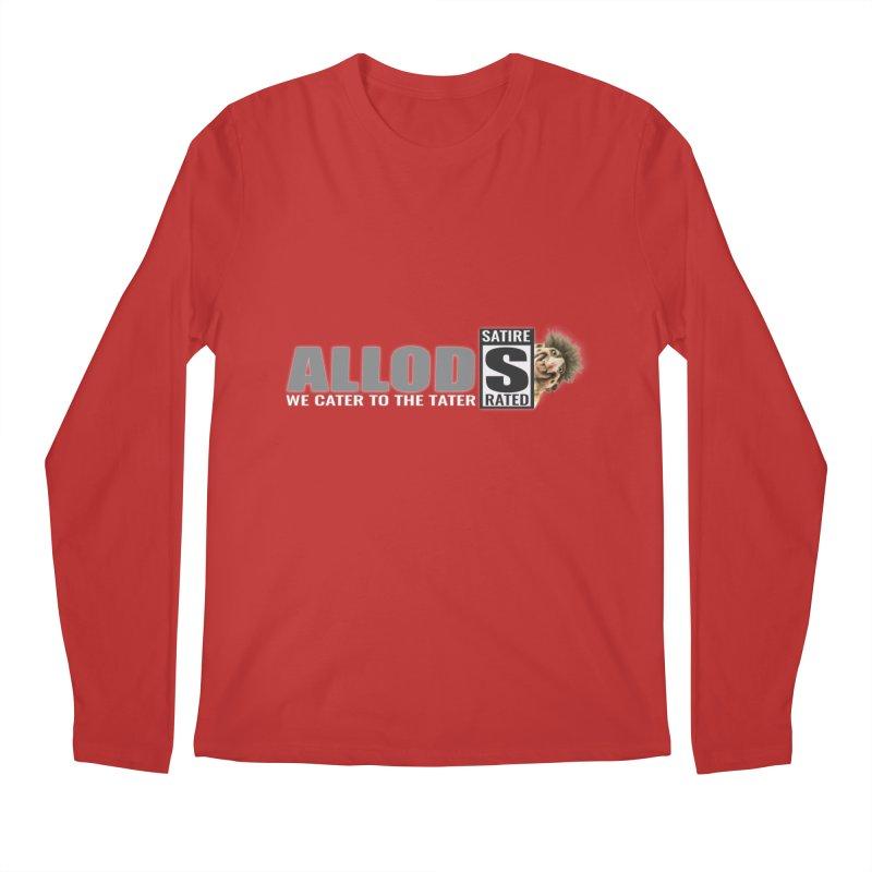 ALLOD The Logo Featuring Busta Troll Men's Regular Longsleeve T-Shirt by America's Last Line of Defense