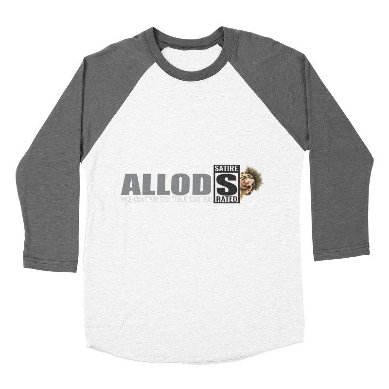 ALLOD The Logo Featuring Busta Troll Women's Baseball Triblend Longsleeve T-Shirt by America's Last Line of Defense