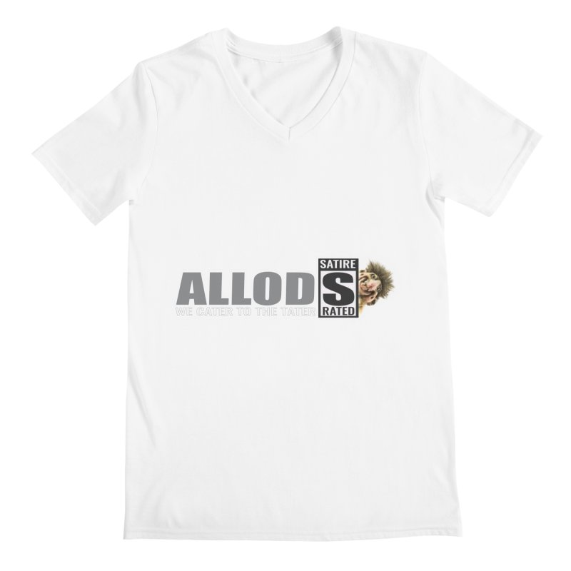 ALLOD The Logo Featuring Busta Troll Men's V-Neck by America's Last Line of Defense