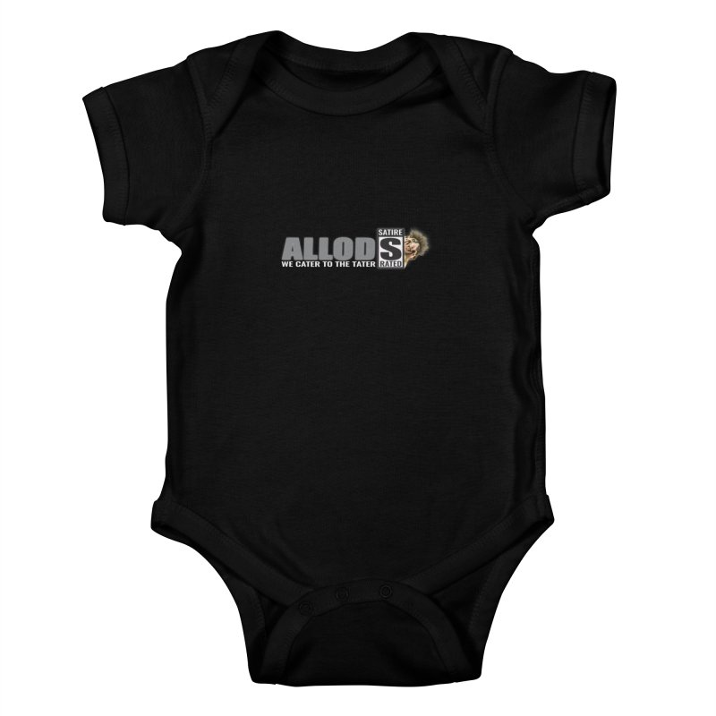 ALLOD The Logo Featuring Busta Troll Kids Baby Bodysuit by America's Last Line of Defense