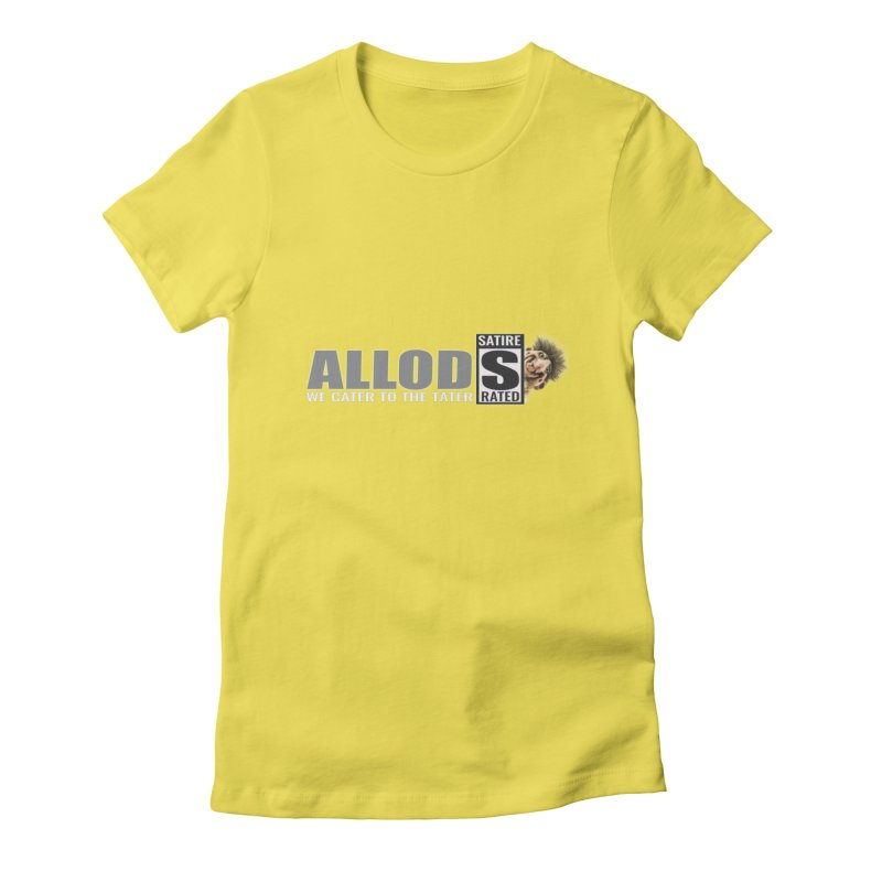 ALLOD The Logo Featuring Busta Troll Women's T-Shirt by America's Last Line of Defense