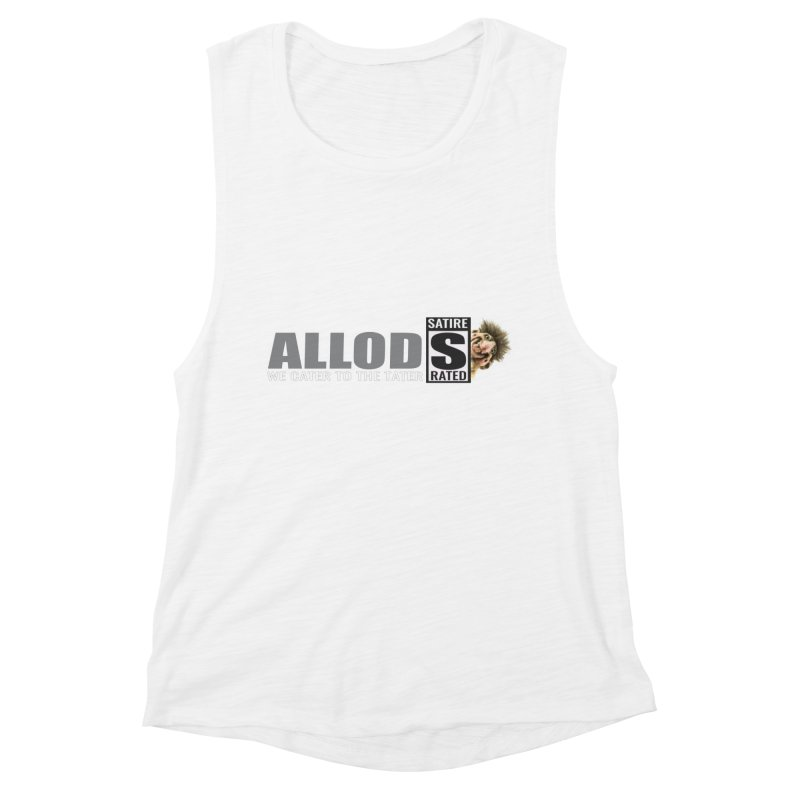 ALLOD The Logo Featuring Busta Troll Women's Muscle Tank by America's Last Line of Defense