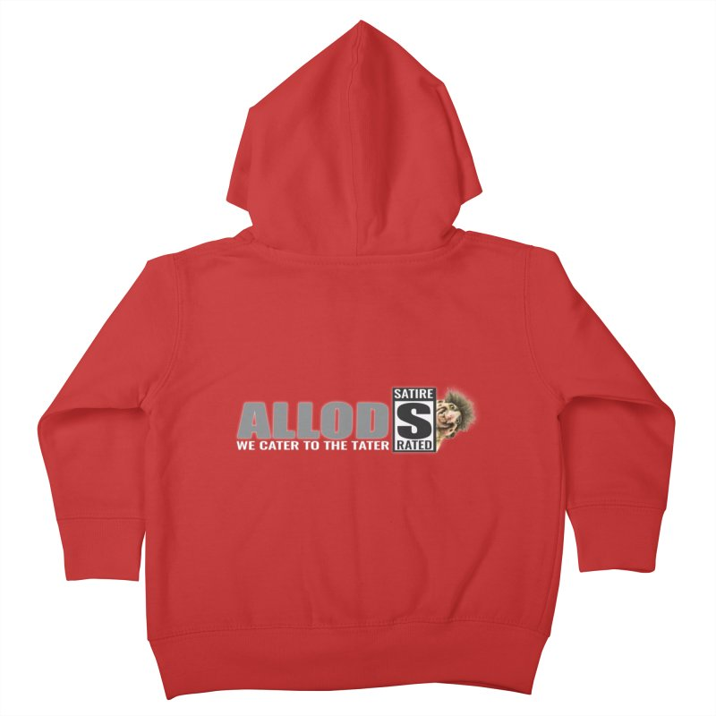 ALLOD The Logo Featuring Busta Troll Kids Toddler Zip-Up Hoody by America's Last Line of Defense