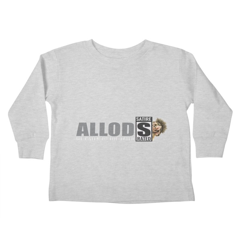 ALLOD The Logo Featuring Busta Troll Kids Toddler Longsleeve T-Shirt by America's Last Line of Defense