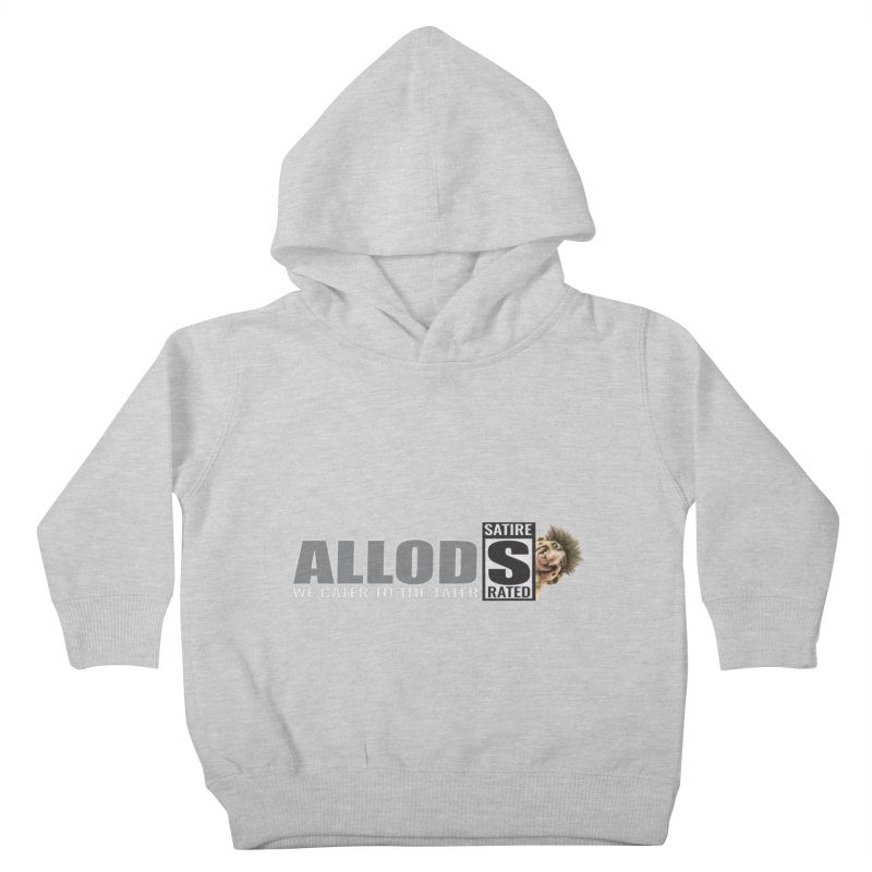 ALLOD The Logo Featuring Busta Troll Kids Toddler Pullover Hoody by America's Last Line of Defense