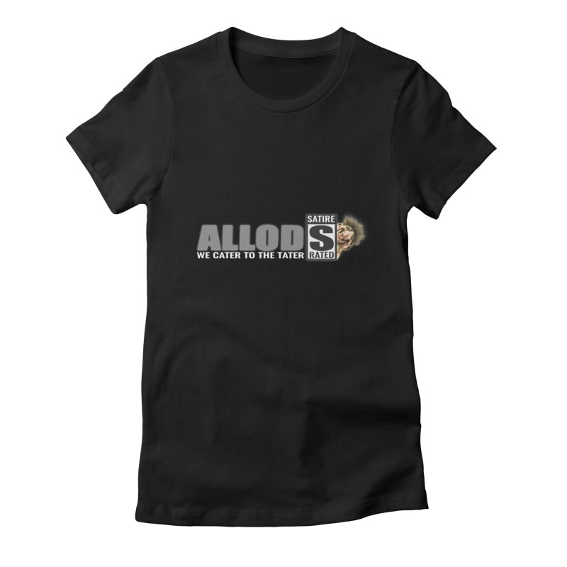ALLOD The Logo Featuring Busta Troll Women's Fitted T-Shirt by America's Last Line of Defense