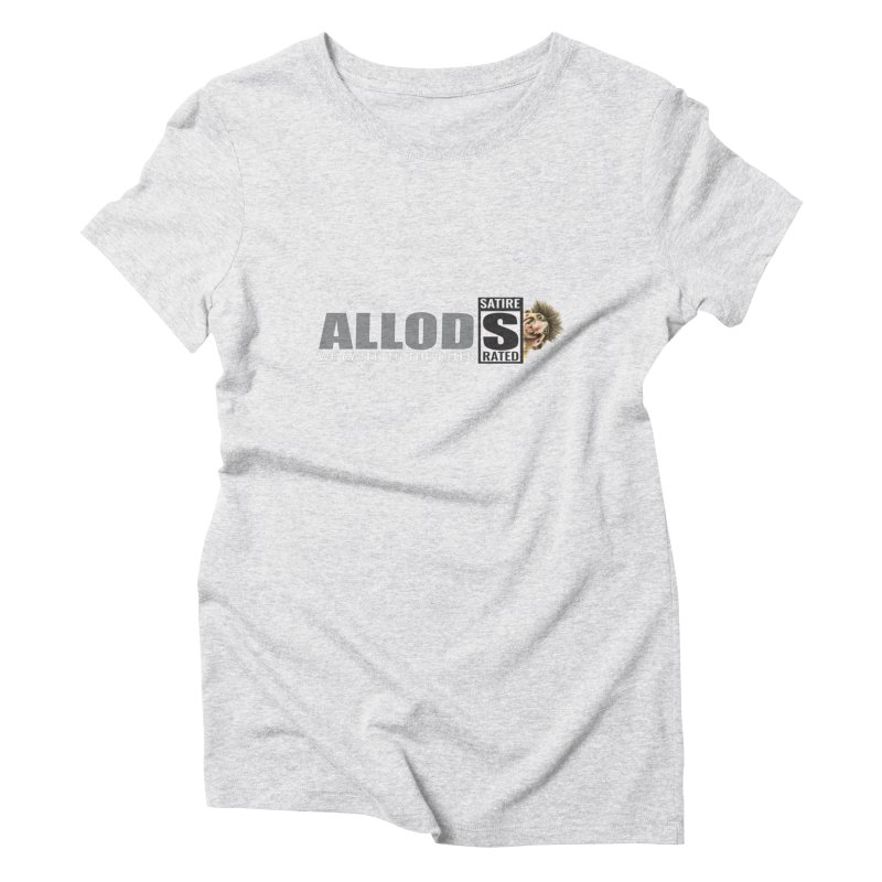 ALLOD The Logo Featuring Busta Troll Women's Triblend T-Shirt by America's Last Line of Defense
