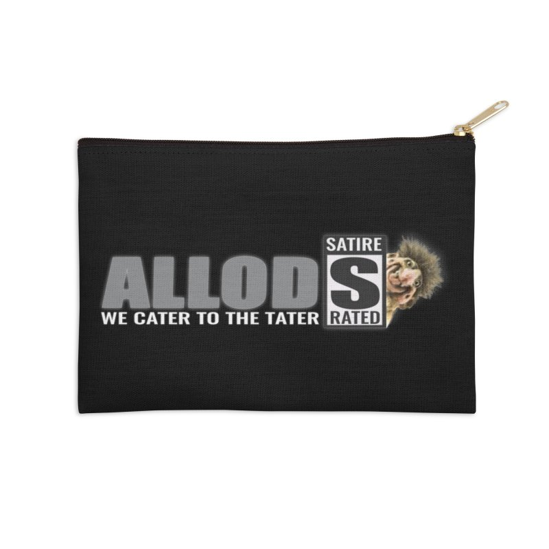 ALLOD The Logo Featuring Busta Troll Accessories Zip Pouch by America's Last Line of Defense