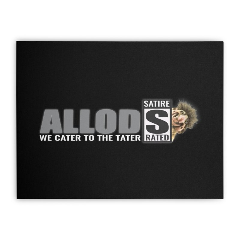 ALLOD The Logo Featuring Busta Troll Home Stretched Canvas by America's Last Line of Defense