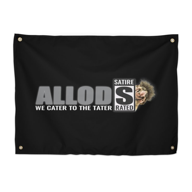 ALLOD The Logo Featuring Busta Troll Home Tapestry by America's Last Line of Defense