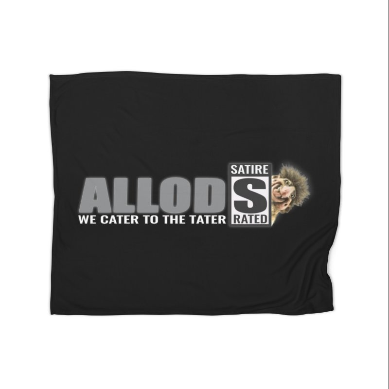 ALLOD The Logo Featuring Busta Troll Home Blanket by America's Last Line of Defense