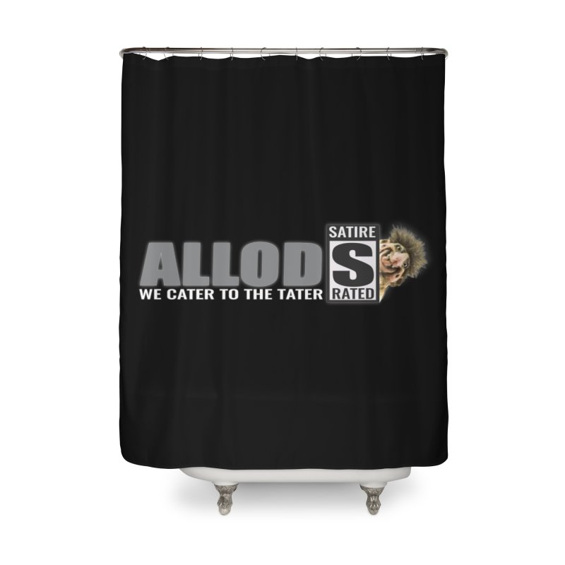 ALLOD The Logo Featuring Busta Troll Home Shower Curtain by America's Last Line of Defense