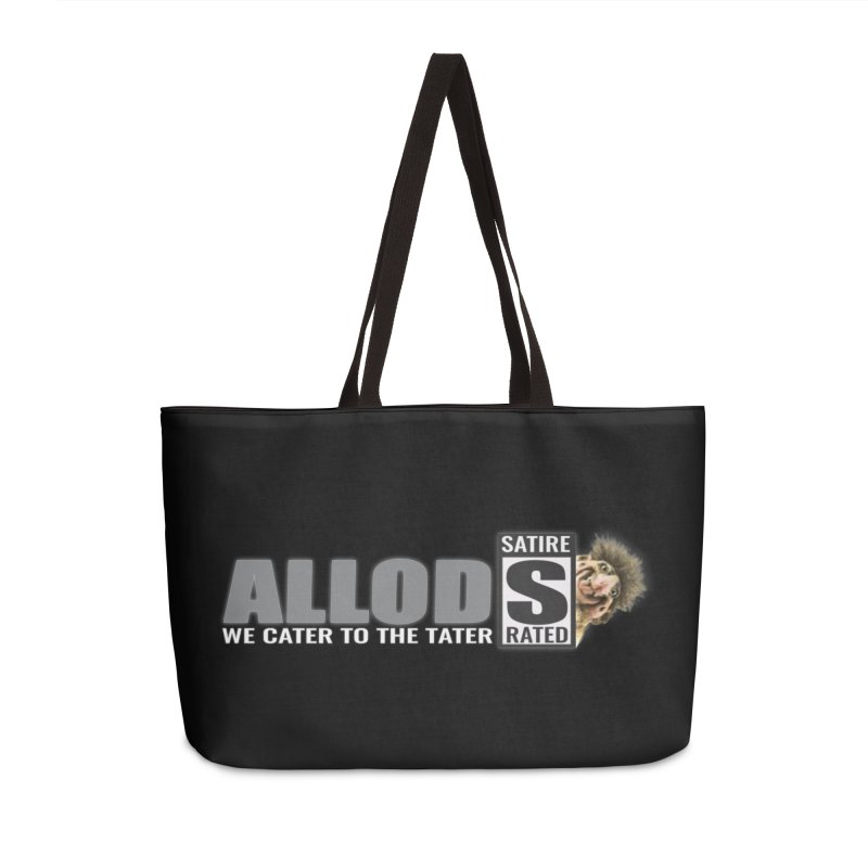 ALLOD The Logo Featuring Busta Troll Accessories Weekender Bag Bag by America's Last Line of Defense