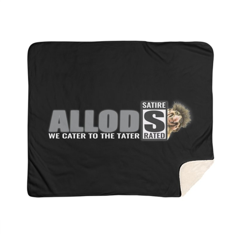 ALLOD The Logo Featuring Busta Troll Home Sherpa Blanket Blanket by America's Last Line of Defense
