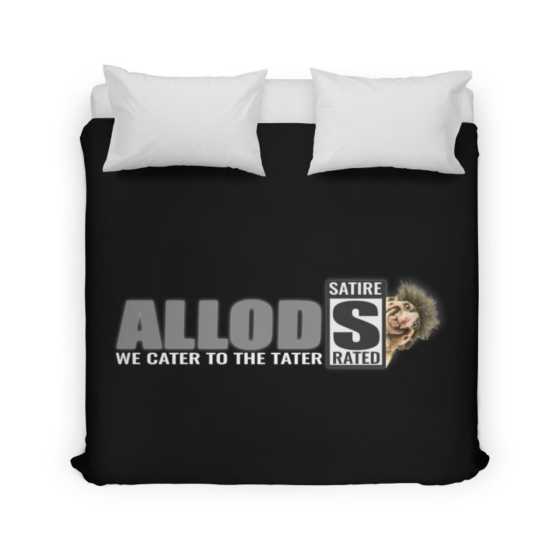 ALLOD The Logo Featuring Busta Troll Home Duvet by America's Last Line of Defense