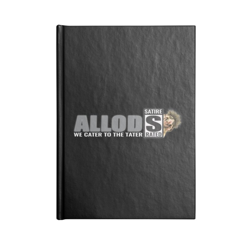 ALLOD The Logo Featuring Busta Troll Accessories Blank Journal Notebook by America's Last Line of Defense
