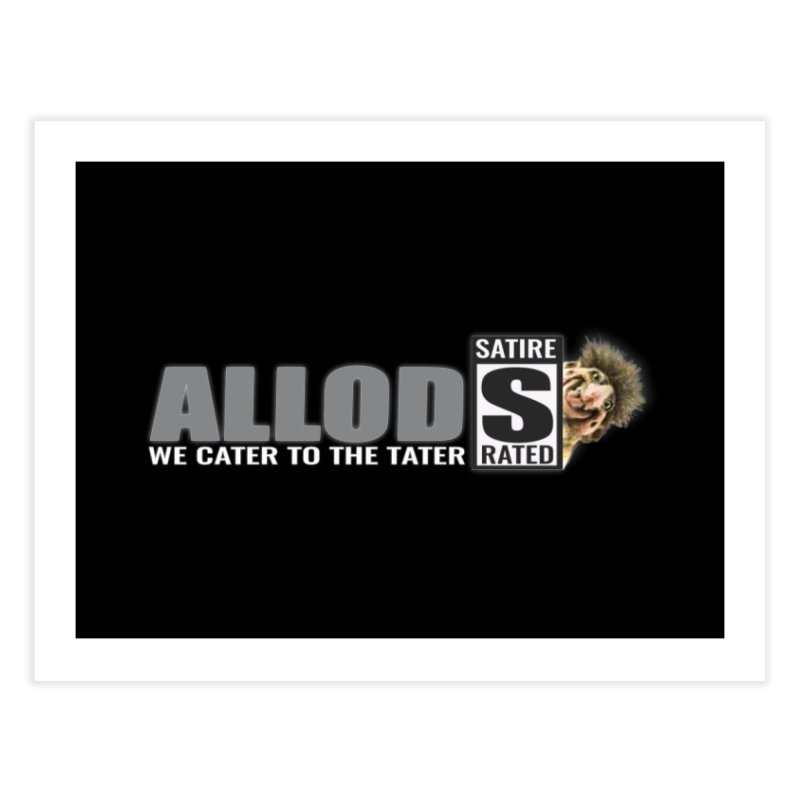 ALLOD The Logo Featuring Busta Troll Home Fine Art Print by America's Last Line of Defense