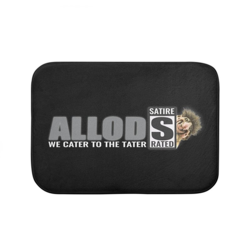 ALLOD The Logo Featuring Busta Troll Home Bath Mat by America's Last Line of Defense
