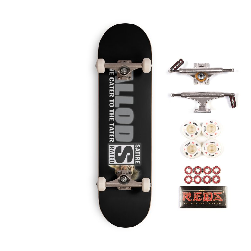 ALLOD The Logo Featuring Busta Troll Accessories Complete - Pro Skateboard by America's Last Line of Defense