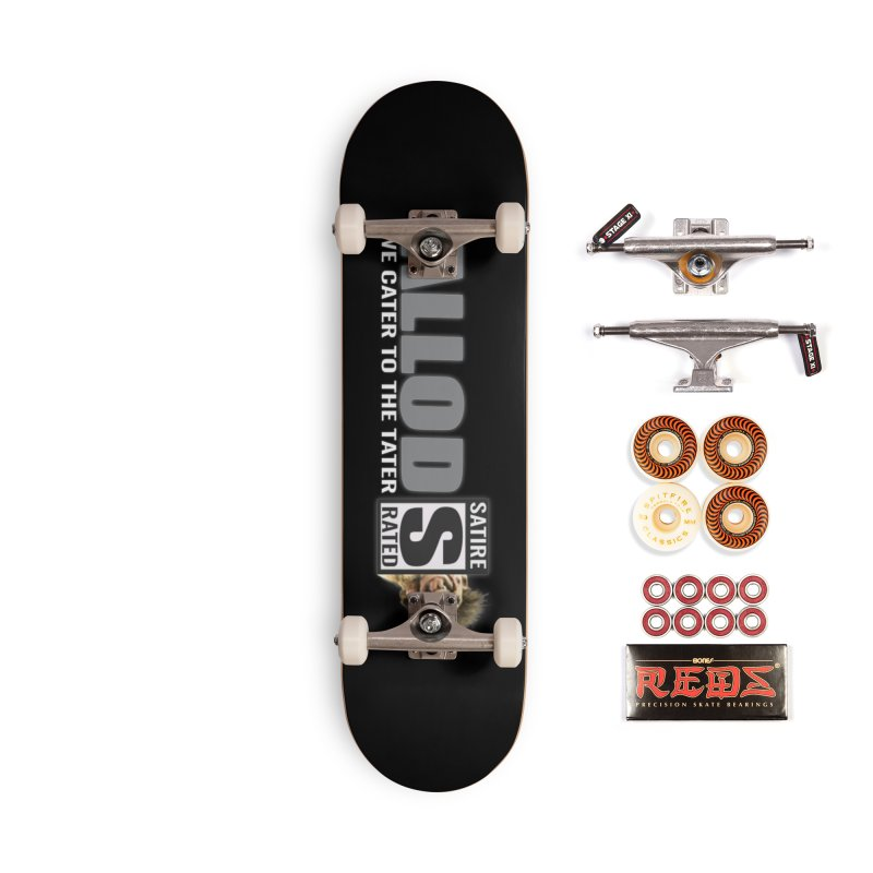 ALLOD The Logo Featuring Busta Troll Accessories Skateboard by America's Last Line of Defense