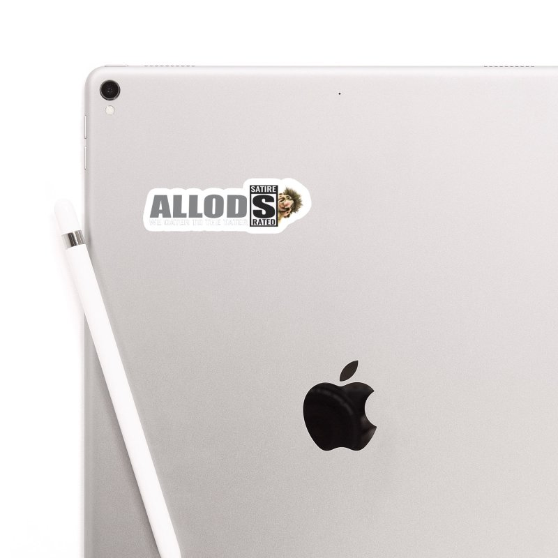 ALLOD The Logo Featuring Busta Troll Accessories Sticker by America's Last Line of Defense