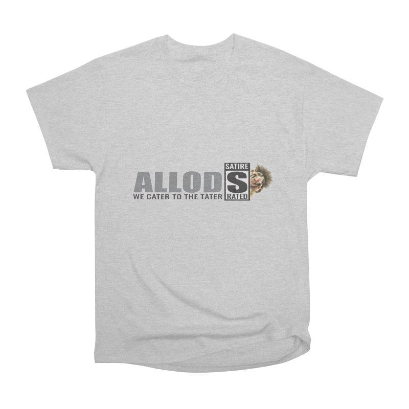ALLOD Logo Dark Cater Men's T-Shirt by America's Last Line of Defense
