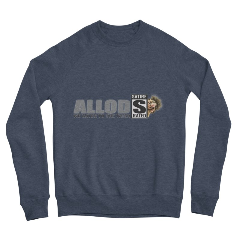 ALLOD Logo Dark Cater Men's Sponge Fleece Sweatshirt by America's Last Line of Defense